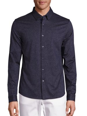 michael kors male buttondown cotton shirt