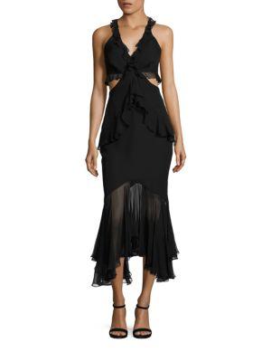 Sydney Sleeveless Silk Dress