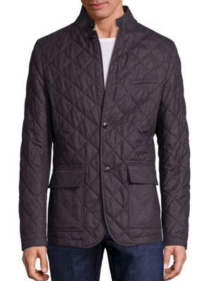 michael kors male long sleeve wool jacket