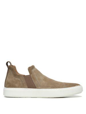 Lucio Suede Slip-On Sneakers