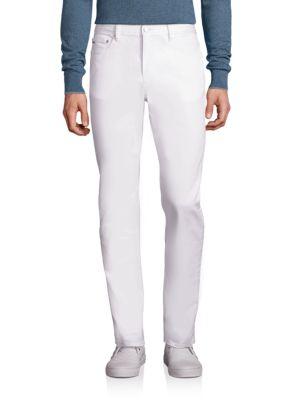 michael kors male solid slim fit jeans