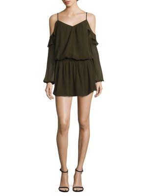 Misti Cold-Shoulder Dress