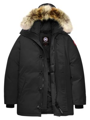Chateau Coyote Fur-Trim Down Parka