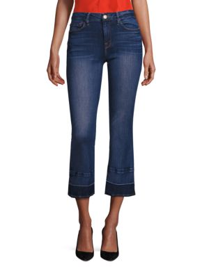 Le Cropped Mini Bootcut Released Hem Jeans