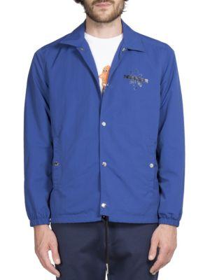 Button Front Trucker Jacket
