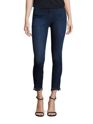 W3 Channel Seam Cropped Jeans