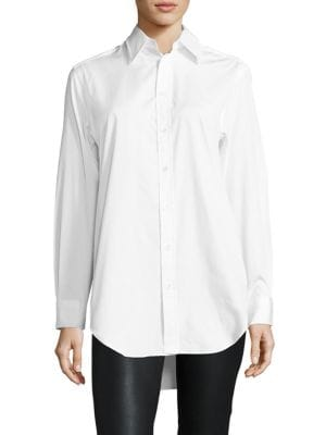 Polo Ralph Lauren Cotton Broadcloth Shirt | Top and Clothing