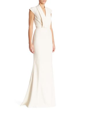 Alexander Mcqueen Cap Sleeve Gown | Dress, Frock and Clothing