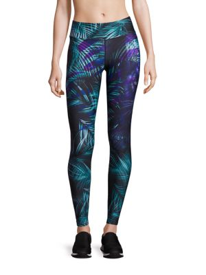 Palm-Print Leggings by We Are Handsome