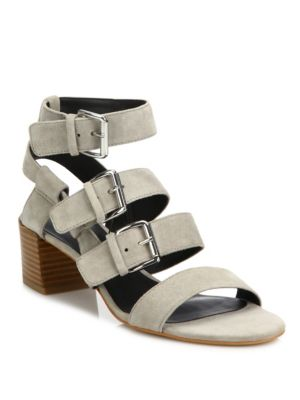 Ilana Kid Leather Strappy Sandals