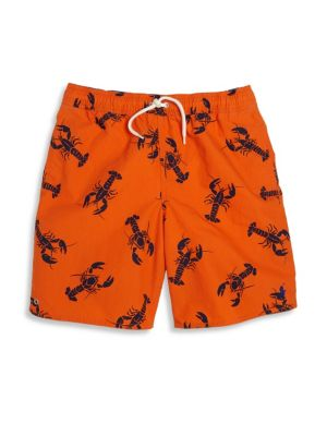 Toddler's, Little Boy's & Boy's Lobster Printed Shorts