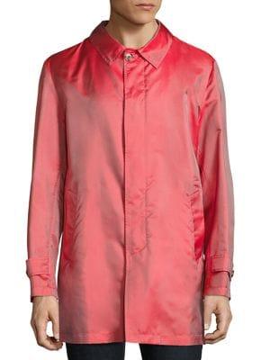 Silk Raincoat