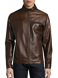 Leather Jackets & Shearling Coats For Men | Saks.com