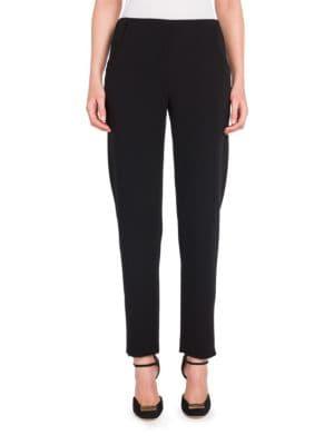 Wool-Blend Zip Pants