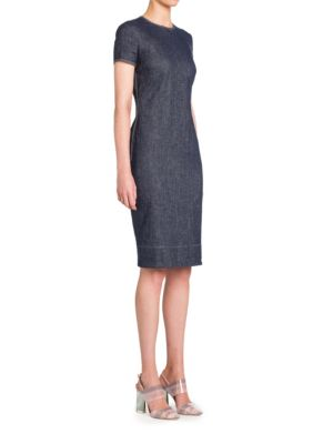 Buy Giorgio Armani Short Sleeve Denim Dress online with Australia wide shipping