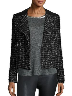 Helen Boucle Double Jacket by Generation Love