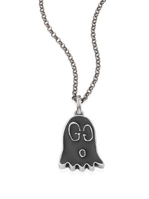 Gucci Ghost Sterling Silver Charm