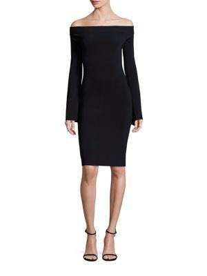 Lea Knit Off-the-Shoulder Dress