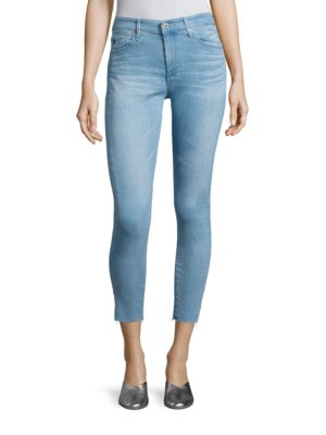 Farrah High-Rise Cropped Skinny Jeans