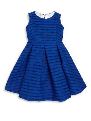 Toddler's, Little Girl's, & Girl's Shadow Striped Dress