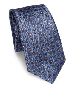 COLLECTION Medallion Silk Tie