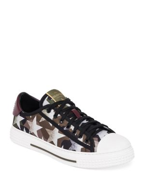 Camustars Lace-Up Sneakers