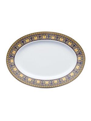 Embellished Porcelain Platter