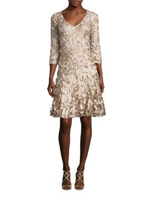 Petal Flared Dress