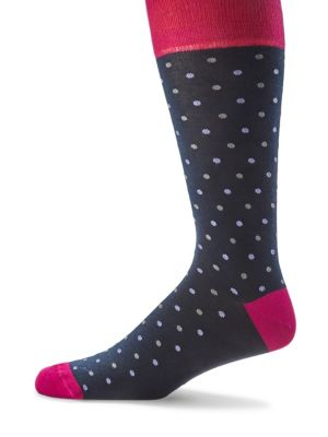 COLLECTION Colorblock Dotted Socks