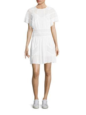 Vilda Lace Applique Dress