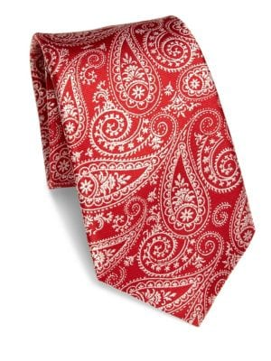COLLECTION Paisley Silk Tie