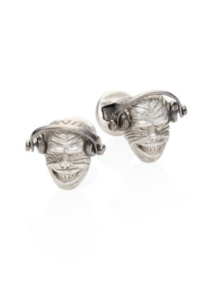 COLLECTION Monkey Head Cuff Links
