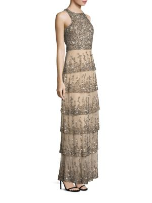 Natalia Sequined Gown