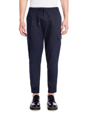 Fitted Cargo Pants