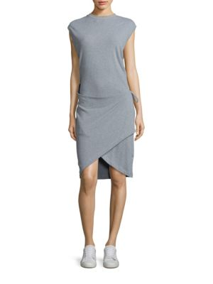 Maeny Wrap Skirt Dress