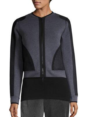 Mandy Mesh Inset Jacket