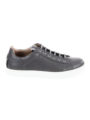Smooth Low-Top Leather Sneakers