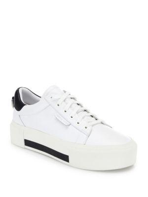 Tyler Leather Platform Sneakers