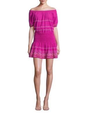 Butan Off-the-Shoulder Dress