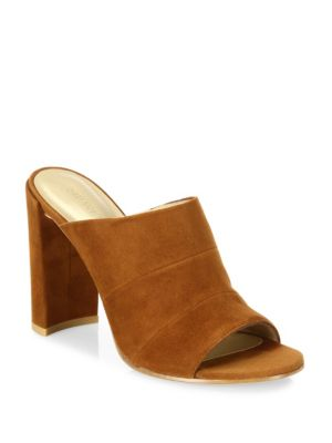 Sequel Suede Slide Sandals