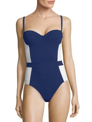 TORY BURCH SWIM Lipsi One-Piece Swimsuit