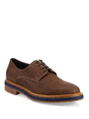 Phenice Leather Derby Shoes