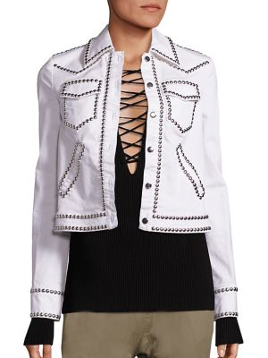 Hayden Stud Crop Jacket