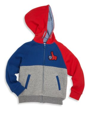 marc jacobs kids 252106 toddlers little boys boys american movies hooded jogging jacket