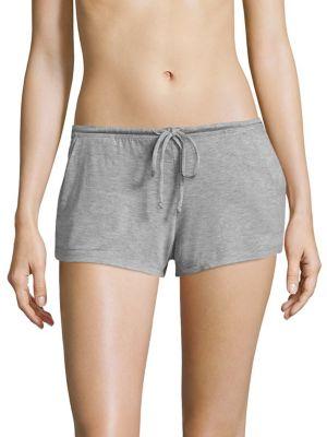 Darby Heathered Pajama Shorts by Eberjey