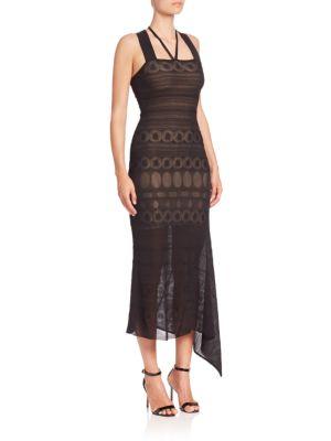 Stevan Asymmetric Dress