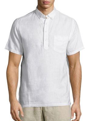 Josh Linen Pullover Shirt