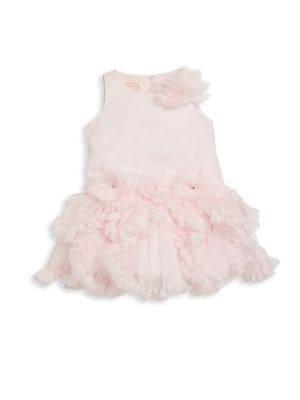 Baby Girl's Sleeveless Fit & Flare Dress