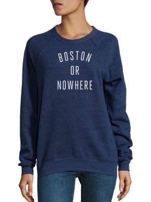 Boston Or Nowhere Graphic Sweatshirt