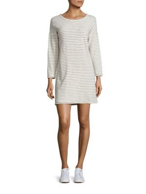 The Painter Striped Cotton T-Shirt Dress